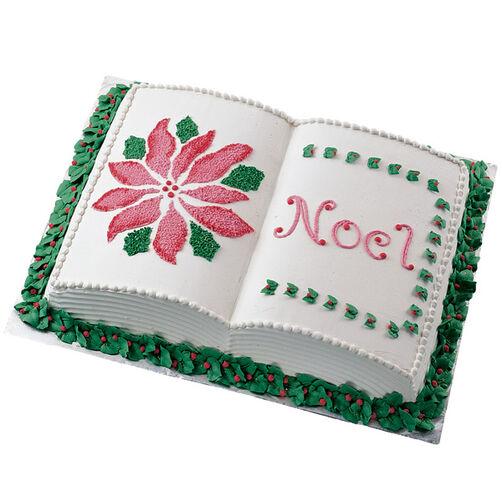 A Holiday Story Cake