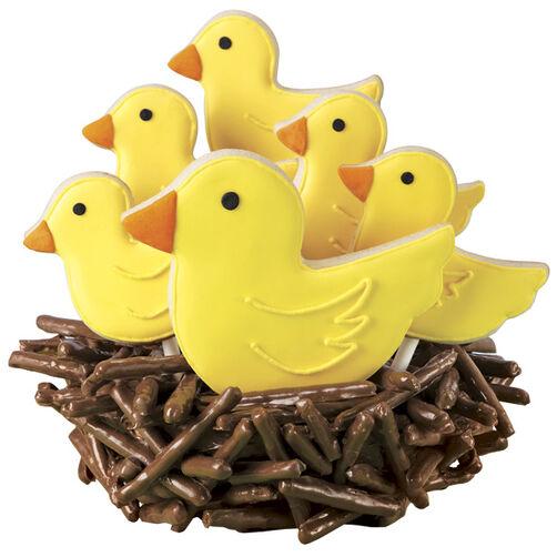 Festive Flock Nested Cookies
