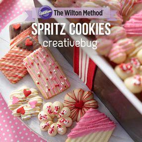Wilton Spritz Cookies Class by Creativebug