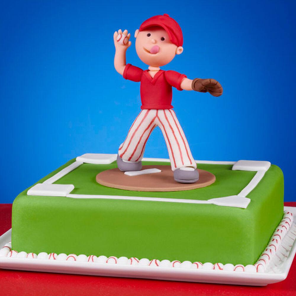 Perfect Pitch Baseball Cake Wilton