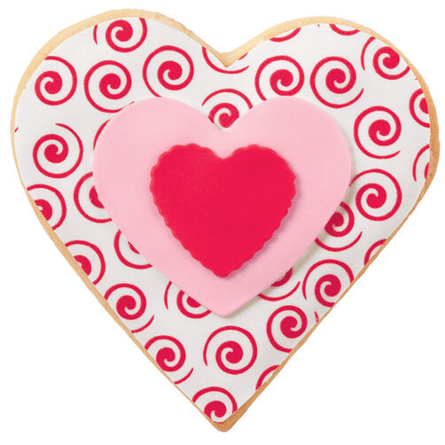 My Heart's A Swirl Cookies