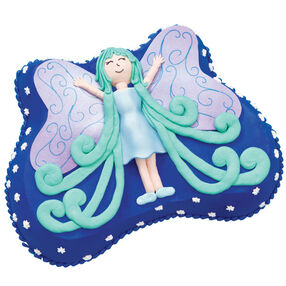 Fairy Flight Birthday Cake for Her