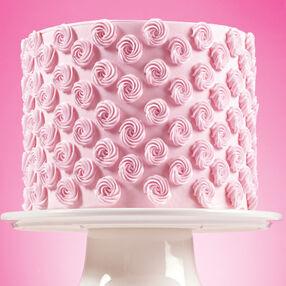 Simplified Rosette Cake