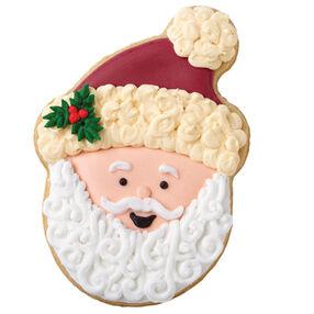 Victorian Santa Cookie