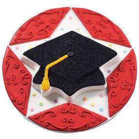 Star Scholar Graduation Cake