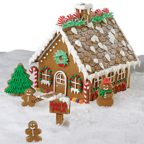 Grand gingerbread house wilton for Gingerbread house themes