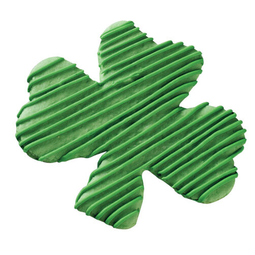 Go Green Shamrock Cookie