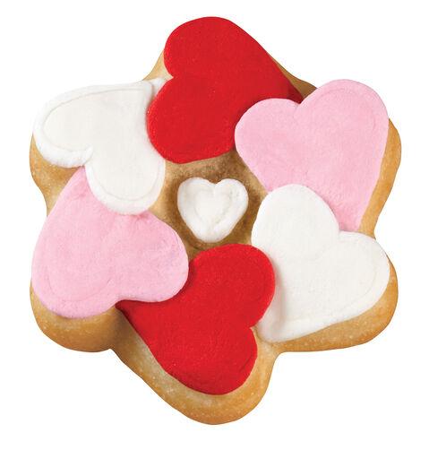 Encircled Hearts Pan Cookies