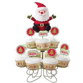 Santa's Carrying Cupcakes