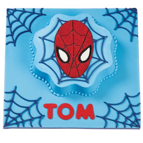 Spider-Man Web Wishes Birthday Cake