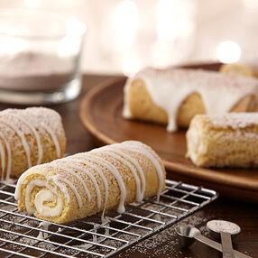 Cinnamon Sugar Coil Cakes