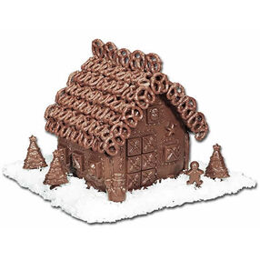 Chocolate Wonderland Gingerbread House
