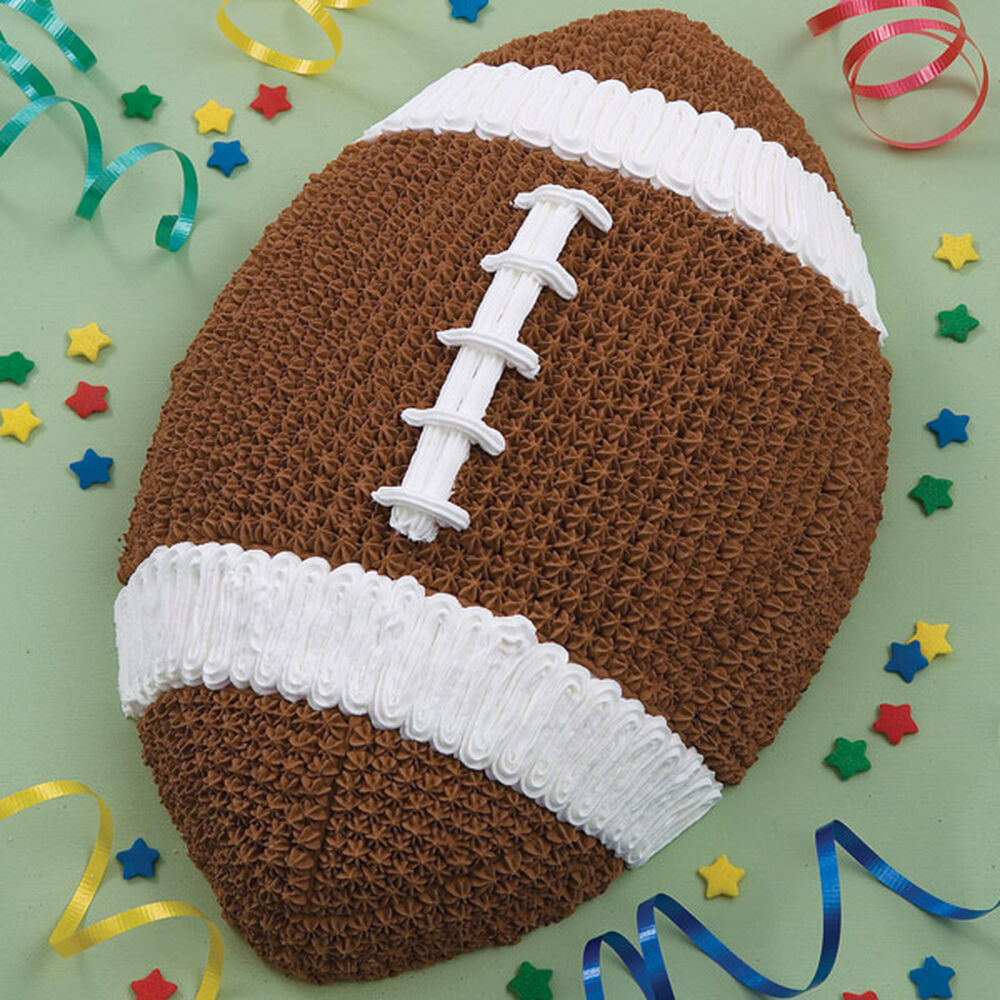 Football Cookie Cake Designs