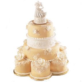 Ivory Grandeur Cake