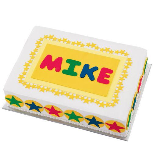 Star-Billing Birthday Cake