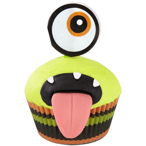 Ahhh-some Monster Cupcake