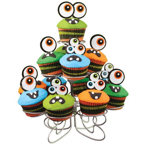 Creepy Peepers Cupcake