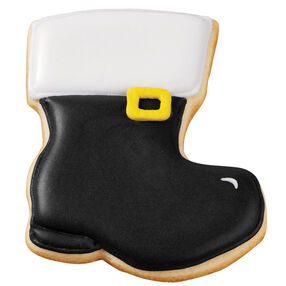 Santa?s Shiny Boot Cookies
