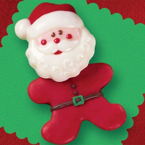 Sassy Santa Cookies