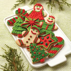 Sugar Cookie People Christmas Cookies
