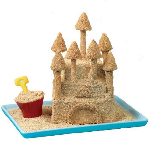 Sand Castle Mini Cake