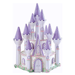The Princess' Address Castle Cake