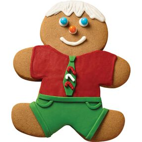 Gingerbread Boy with Tie