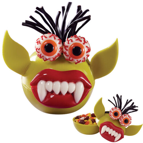 Candy-Gobbling Goblin Candy Treats