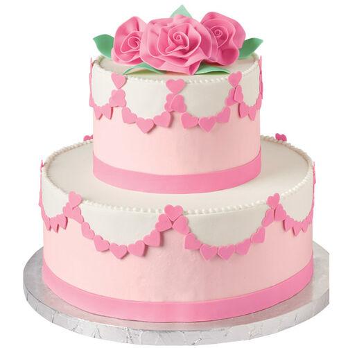 Mini Hearts Cake