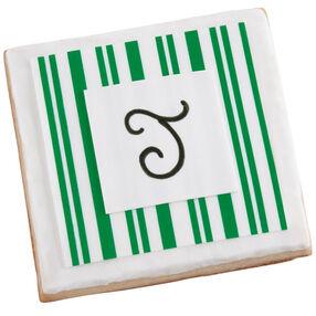 Signature Striped Cookies