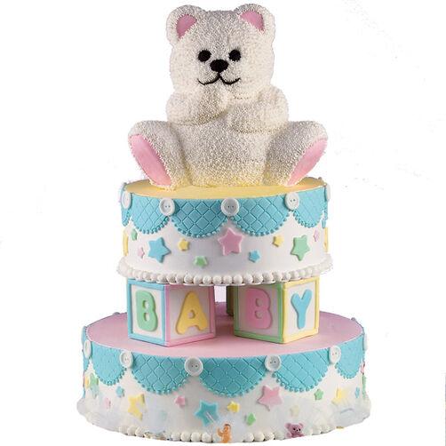 Teddy's Ready to Play! Cake