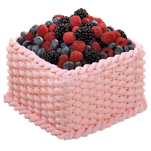 The Berry Basket Cake