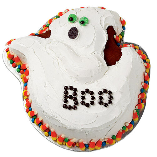 Ghoulish Greeting Cake