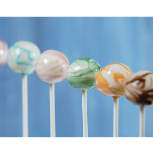 Marble Swirls Candy Cake Pops
