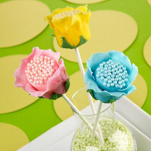 Open Rose Candy Clay Marshmallow Treats