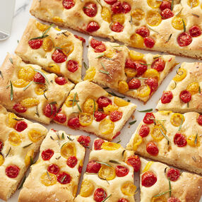 Tomato and Rosemary Foccacia