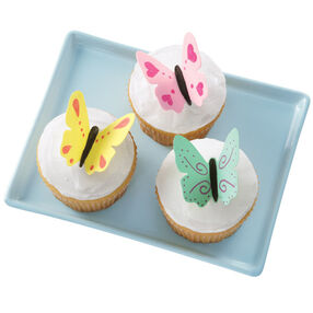 Flights of Fancy Butterfly Cupcakes
