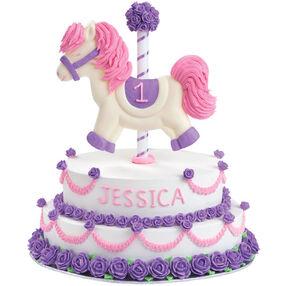 Carousel Horse Cake