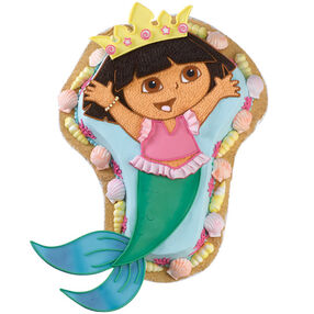 A-Dora-ble Mermaid! Cake