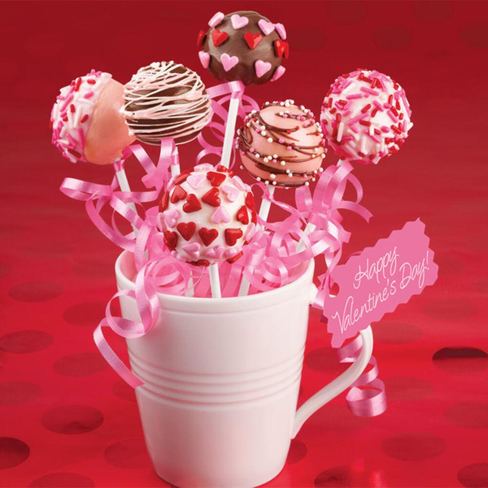Valentine S Day Cake Pop Decorating Ideas : Valentine Variety Cake Pops Wilton