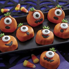 Jack-O?-Lantern Cookies