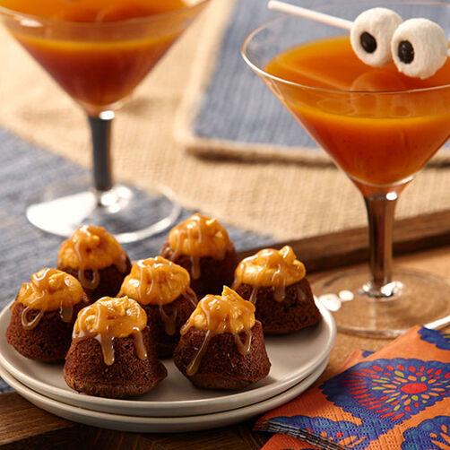 Double Trouble Pumpkin Brownies