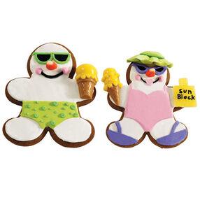 Summer Couple Cookies