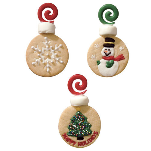 Trim Up the Tree Christmas Cookies