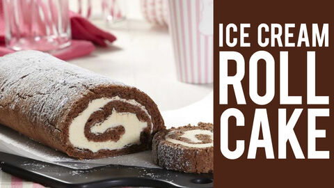 How to Make an Ice Cream Roll Cake