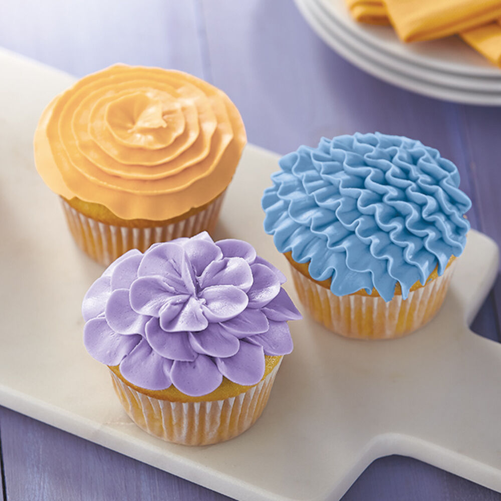 Petal Pastel Cupcakes Wilton
