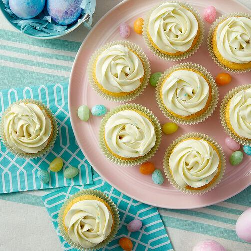 Vanilla Custard and Lemon Cupcakes