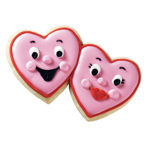 Loving Couple Cookies