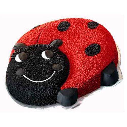 Lady Bug Mallow Cake