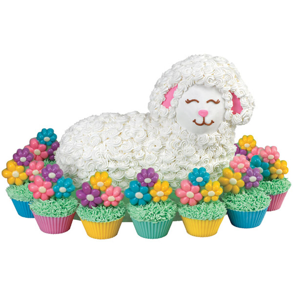 Lounging Lamb Cake Wilton